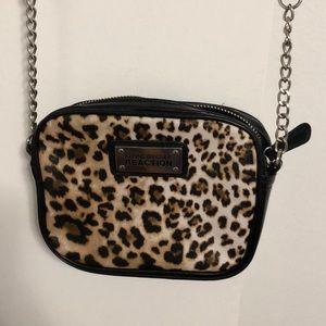 Kenneth Cole reaction leopard crossbody